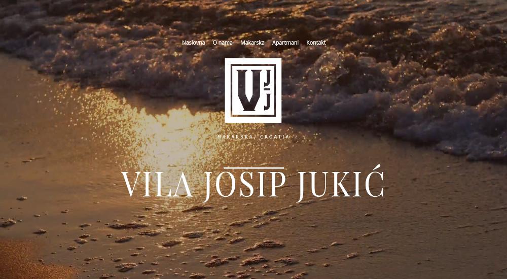 Web stranica Vila Jukić Makarska